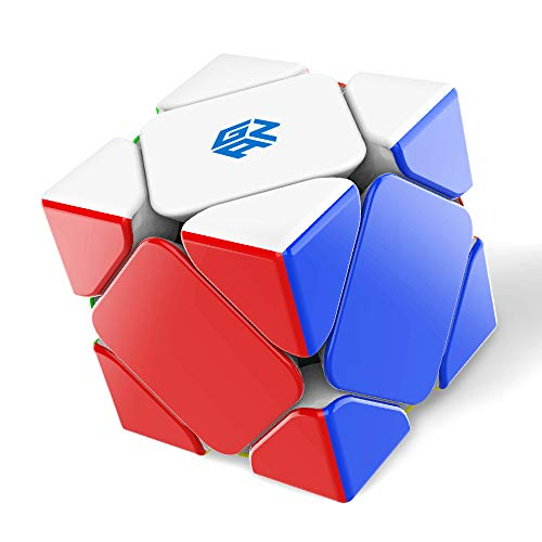 GAN Skewb, Magnetic Speed Cube Skweb Puzzle Cube Magic Cube(32 Magnets Enhanced Version)