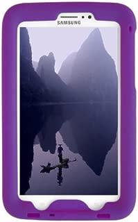 BobjGear Bobj Rugged Case for Samsung Galaxy Tab 3 7-inch Tablet, Tab3 7-inch Kid's Edition (Not for Tab3 Lite, Tab2) Custom Fit - Sound Amplification - Kid Friendly (Playful Purple)