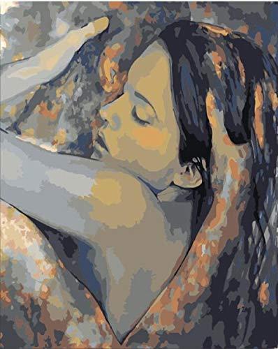 KLBPL Pintar por Numeros Adultos Arte Sexy De Hombres Y...