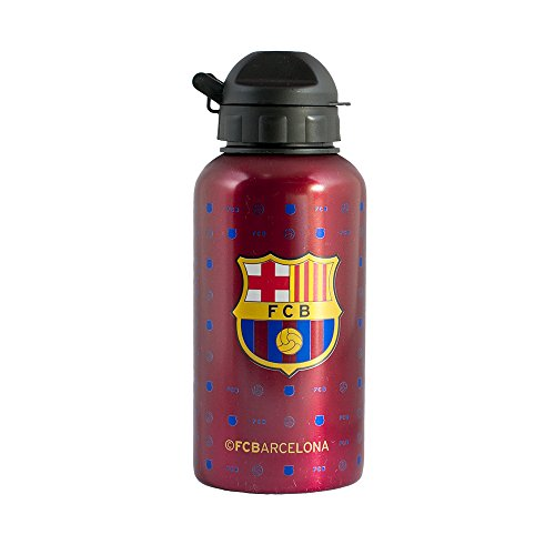 Alusport Bottles FCB Junior Modelo II Botella Deportiva, Niños, Azul, S