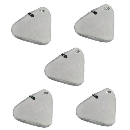 5 Ersatztücher von und für Aqua Laser Premium 3 / Aqua Laser Modelle