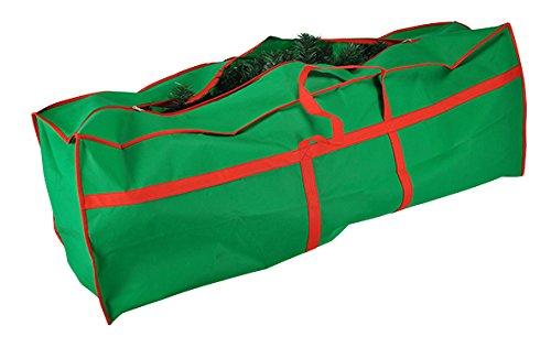 HI Tannenbaumhülle Weihnachtsbaumhülle grün 210 cm Tannenbaumtasche Weihnachtsbaumtasche Aufbewahrung Weihnachtsbaum Transporthülle Weihnachtsbäume Tannenbaum Aufbewahrung Tasche