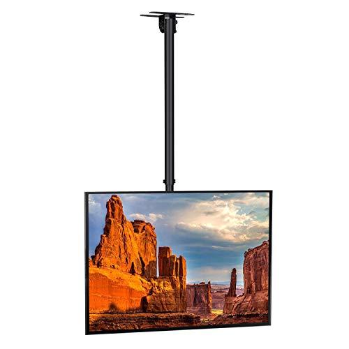 SIMBR Soporte TV de Techo con Altura Ajustable Soporte para...