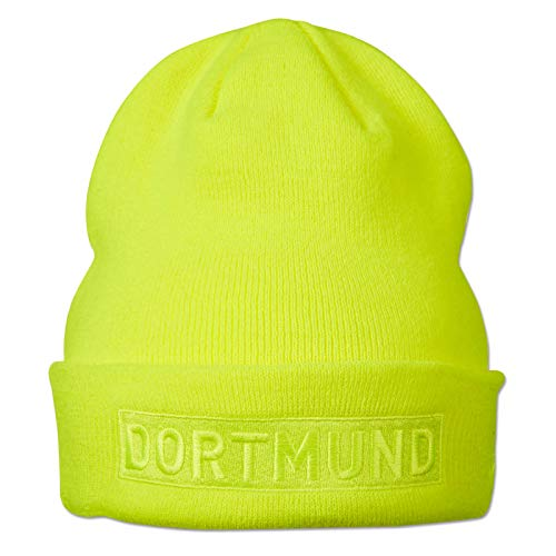 BVB-Box-Logo-Beanie Neon New ERA one Size