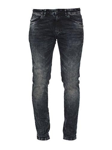 M.O.D Herren Slim Fit Jeans blau 34/32