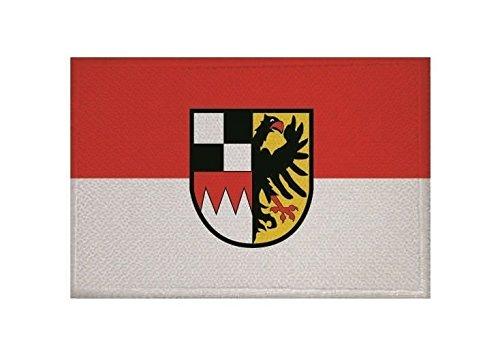 U24 Aufnäher Mittelfranken Fahne Flagge Aufbügler Patch 9 x 6 cm