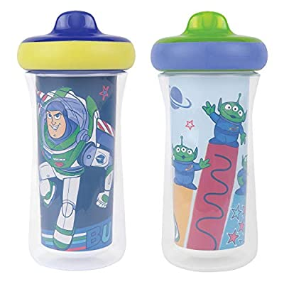 The First Years Disney/Pixar Toy Story Insulated Sippy Cup 9 Oz - 2pk, Multi by AmazonUs/RCBB9