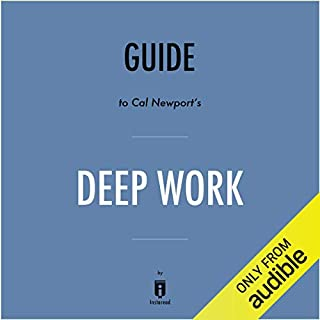 Summary of Deep Work by Cal Newport | Includes Analysis audiobook cover art