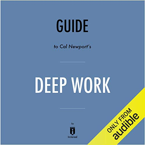 Summary of Deep Work by Cal Newport | Includes Analysis Titelbild