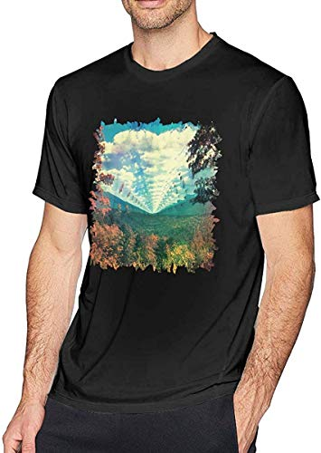 Gsdgjgg Men's Tame Impala T-Shirt Short Sleeve Tee,Personality,Small Black