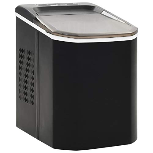 vidaXL Eiswürfelbereiter 1,4 L 15kg/24h Eiswürfelmaschine Ice Maker Eiswürfel