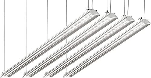 Hyperikon 4 Foot LED Shop Light (4 Pack)