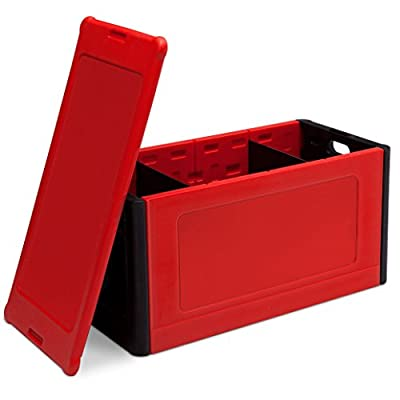 Delta Children Store and Organize Toy Box, Red