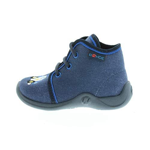 Rohde Schuhe für Jungen Lauflernschuhe Marine 161056 (19)
