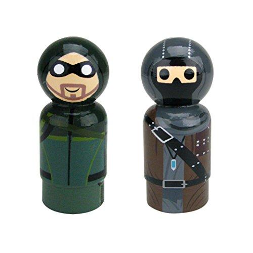Bif Bang Pow! DC Comics Live Action TV Arrow Pin Mate Wooden Figure (Pack of 24) -  EE Distribution, BBP22900EE1AMZ