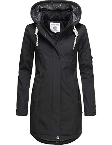 Peak Time Damen Softshell Mantel L60013 Black020 Gr. XXL