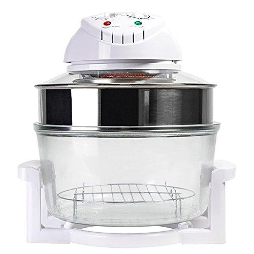 TSC - Four à Convection Mini four Grill - Four Electrique, Four à Chaleur Tournante Combi Grill 3001 12 Litres 1400W Blanc