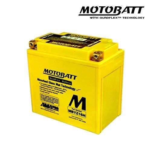 e06037batería Battery precargado motobatt mbtx20uhd mbyz16h aprilia SR Max 1252011> V 5AH 151x 87x 145mm Ácido