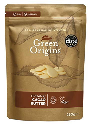 Green Origins Bio Kakaobutter, 250 g