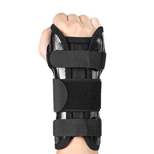 Haofy Handgelenkschiene Handgelenkbandage für Karpaltunnelsyndrom, Leder Handgelenkstütze Handgelenkorthese, Handgelenkschoner Schmerzlinderung für Sehnenscheidenentzündung Arthritis, Link Rechts Hand