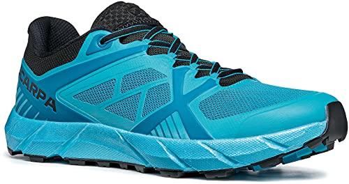 Scarpa SPIN 2.0, Zapatillas de Trail Running Hombre, Azure-Black ARS FIXION 2, 42.5 EU