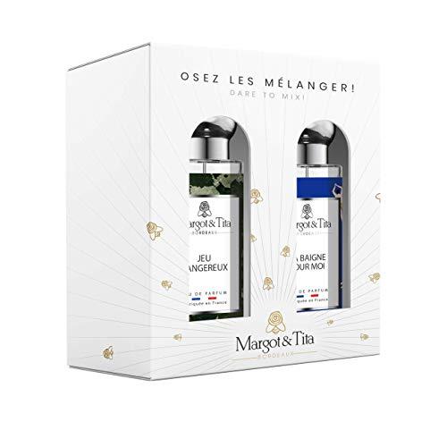 Margot&Tita Coffret Cadeau Osez les mélanger! - Coffret 2 Eaux de Parfum 30 ml
