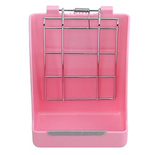 Weisin Feeder Manger Rack Heubehälter Feeder Hay Feeder Schalen Manger Rack für Kleintiere verwenden, Pink