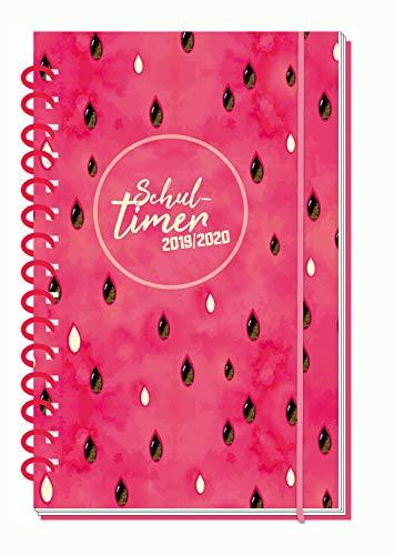 Trötsch Verlag  201913 - Schülerkalender 2019/2020, Flexi Melon, ca. 14 x 21 cm, 128 Seiten