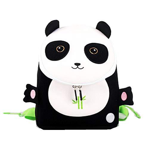 Cute Anti Lost Waterproof Animals Kindgergarten Shcool Bag Backpack for Kids Littler Girls Boys (Panda)