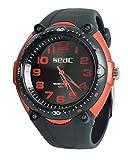 SEAC Reloj Agua asta 100MT, Caja en Acero Inoxidable, resistiente Correa en Goma 1470002742000A/396
