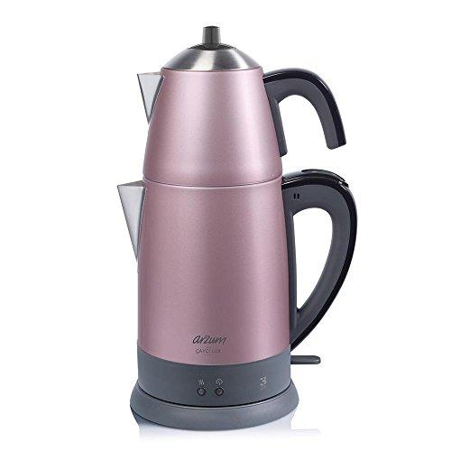 Arzum AR3055 Tea Maker, Stainless Steel