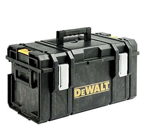 DeWalt Tough Box 1-70-322 Werkzeugbox/ Werkzeugkiste (große Werkzeugbox für allgemeinen Einsatz, IP 65- staubdicht und spritzwassergeschützt, mit Druckausgleichsknopf) DS300