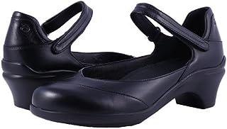 (アラヴォン)Aravon レディースヒール・パンプス Maya Black Leather 7 24cm N (AA) [並行輸入品]