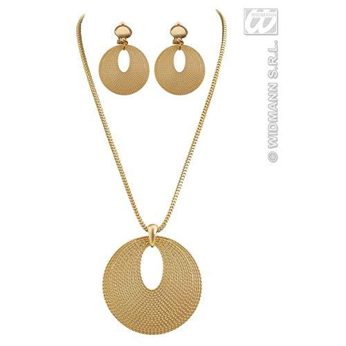 Widmann Aptafêtes–AC5400–Set Schmuck Römische Halskette und Ohrringe