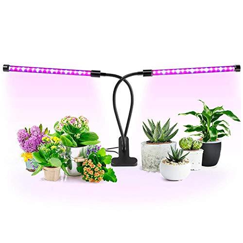 Volspectrum plantenlamp 18 W Full Spectrum Grow Lights DC5 V flexibele clip voeding USB desktop plantengroei verlichting bloemen planten