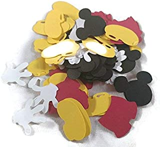 Mickey Mouse Parts - Confetti Die Cut - 100 Pieces