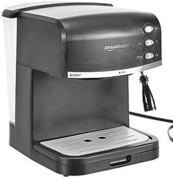 AmazonBasics Espresso Machine and Milk Frother