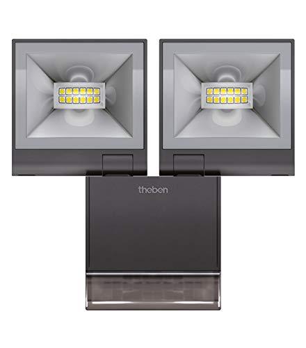 Theben LED Strahler theLeda S20 BK 4000K,20W,schwarz LUXA Downlight/Strahler/Flutlicht 4003468100912