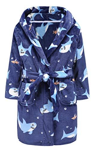 shark bathrobe toddler - 3