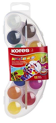 Malkasten, Mini Malskasten, Mini Akuarellos, Wasserfarbe, Wasserfarbmalkasten