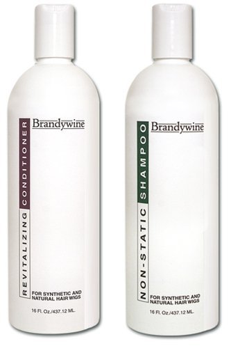 Brandywine Non Static Shampoo & Revitalizing Conditioner 16 Ounce., Value Pack Bundle 2 items