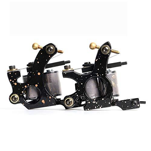 SHENG Tätowierungs-Legierungsspulen-Nebelmaschinen-Schrapnell 10 Wendungen Kupferspule (2-Spulen-Nebelmaschinen)