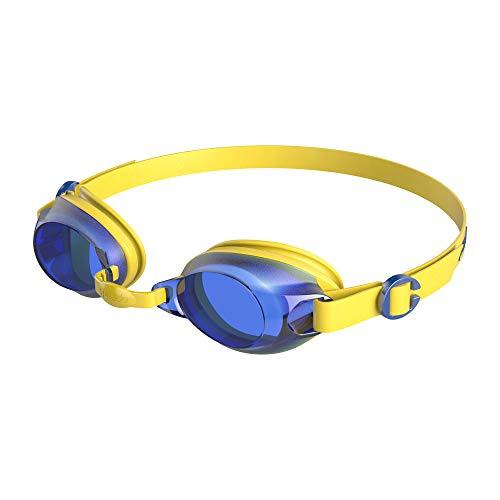 Speedo Jet Junior Gafas de natación, Unisex niños, Amarillo Imperio/Azul neón, One Size