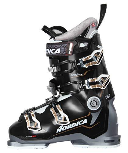 Nordica Damen Skischuhe Speedmachine 95 X schwarz/grau (718) 24,5