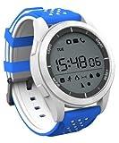 Garett Sport 4 Smartwatch, Blau-Weiß