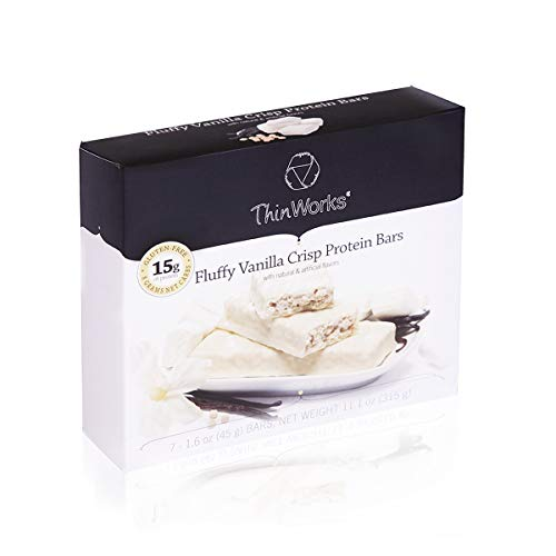 ThinWorks Fluffy Vanilla Crisp Low Carb Protein Bars