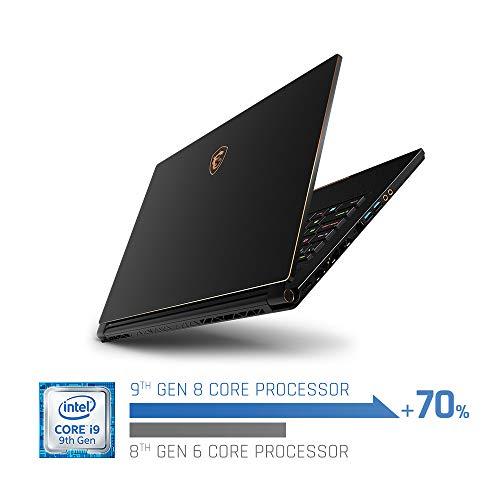 """MSI Stealth 15.6"""" 1920 x 1080 240 Hz Core i9-9880H 2.3 GHz 32 GB Memory 1 TB NVME SSD Storage Laptop"""