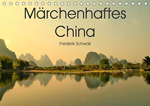 Märchenhaftes China (Tischkalender 2021 DIN A5 quer)