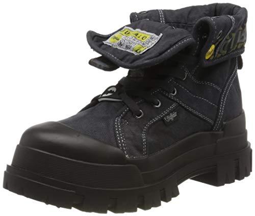 Buffalo Damen Panthera HI Combat Boots, Schwarz (Black 000), 39 EU
