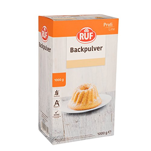 RUF Backpulver Großpackung ohne Zusatzstoffe glutenfrei, 1er Pack (1 x 1000 g)